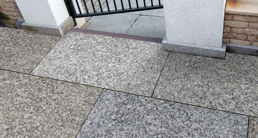 Плитка из гранита