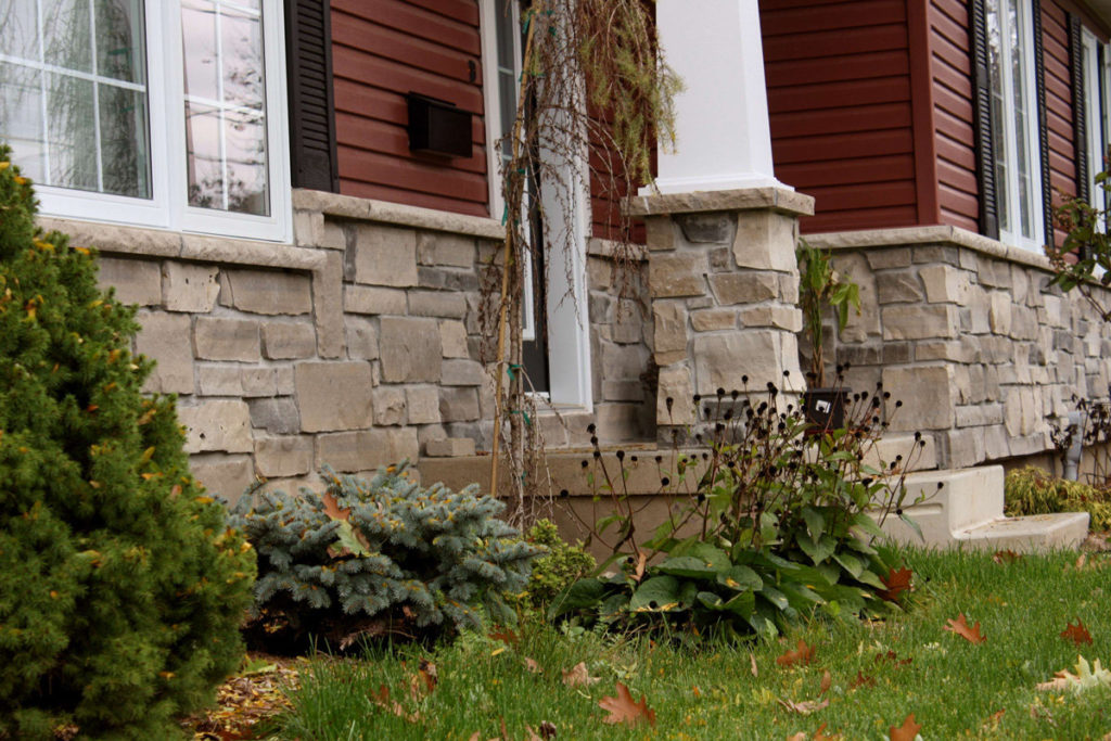 Облицовка фасада натуральным камнем: главные секреты